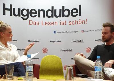 Live-Premiere des Buchs »Endlich Ben« mit Benjamin Melzer in der Buchhandlung Hugendubel