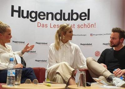 Live-Premiere des Buchs »Endlich Ben« mit Benjamin Melzer - Hier zusammen mit Bens Freundin Sissy
